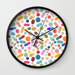 Unicorn Pills Light Wall Clock