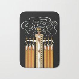 """Art Deco Design """"The Golden Calf"""" by Erté Bath Mat"""