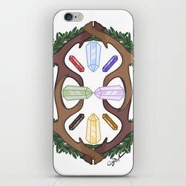 Crystal Deer iPhone Skin