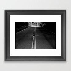 risky business  Framed Art Print