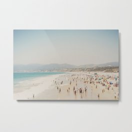 summer time in Santa Monica ... Metal Print