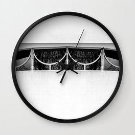 Frank Lloyd Windows Wall Clock