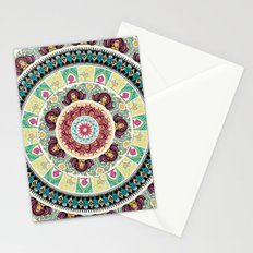 Sloth Yoga Medallion Stationery Cards