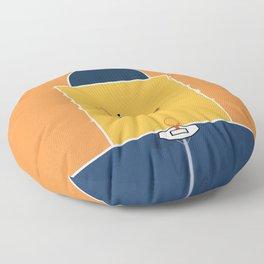Basketball Vibes  Floor Pillow