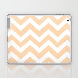 Light orange - pink color - Zigzag Chevron Pattern Laptop & iPad Skin