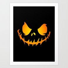 Evil Black Jack Art Print