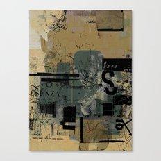misprint 58 Canvas Print