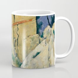 """Paul Cezanne """"The House with the Cracked Walls"""" Coffee Mug"""