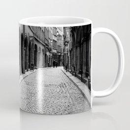 Stone pavement street: Vieux Lyon Coffee Mug