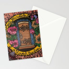 GOD'S DOOR Stationery Cards