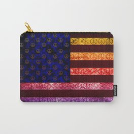 50 SHADES OF PEACE - 079 Carry-All Pouch