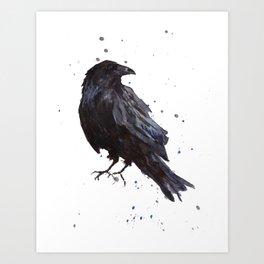 Constellation Raven Art Print