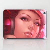 freedom iPad Cases featuring Pepper Freedom by Artgerm™