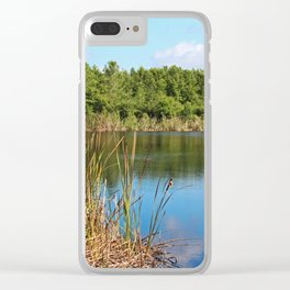 Gator Lake III Clear iPhone Case