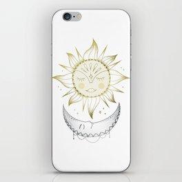 Sun and Moon iPhone Skin