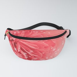 A Touch of Love - Pink Rose with Hearts #1 #art #society6 Fanny Pack