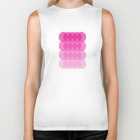 ombre Biker Tanks featuring Ombre by TypeArtist