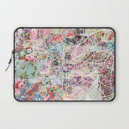 Clermont-Ferrand map Laptop Sleeve