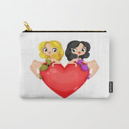 Two girls Carry-All Pouch
