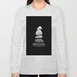 balance pebble art Long Sleeve T-shirt