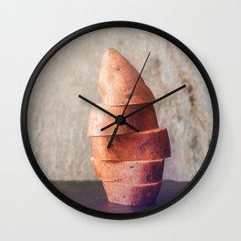 interesting photos of food Wall Clock