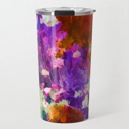 Explosion of Color Travel Mug