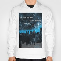 paper towns Hoodies featuring Paper Towns John Green  by denise