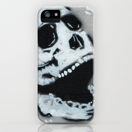 Gunga Skull 03 iPhone Case