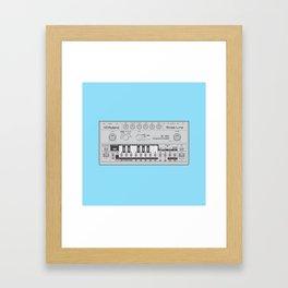 303 Square Framed Art Print