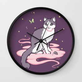 Stars and Distractions Wall Clock