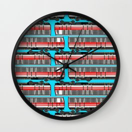 Subway Cart Wall Clock