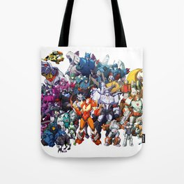 30 Days of Transformers - More Than Meets The Eye cast Tote Bag