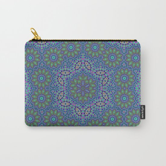 Lace kaleidoscope Carry-All Pouch