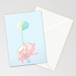 I can touch the sky Stationery Cards