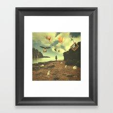Her Journey Framed Art Print