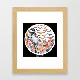 Geobirds Framed Art Print