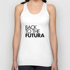 Back to the Futura Unisex Tank Top