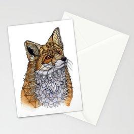 Fox Portrait Stationery Cards