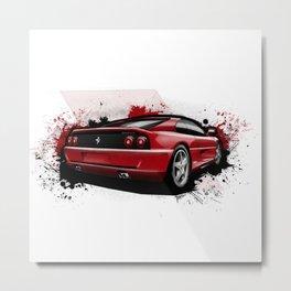 355 F1 GTS Metal Print