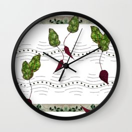 Big Beet Beat Wall Clock