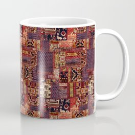 vintage mixed media collage Coffee Mug