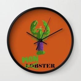 Lobster monster Wall Clock