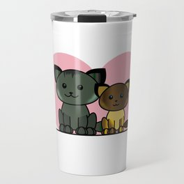 Meet My Cats - Illustration Travel Mug