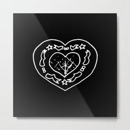 ▴ amulet ▴  Metal Print