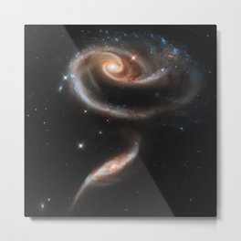 Rose Spiral Galaxy UGC-1810 Metal Print