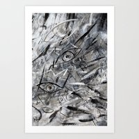 illusion Art Prints featuring Illusion by Nika Akin