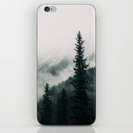 Over the Mountains and trough the Woods -  Forest Nature Photography iPhone Skin