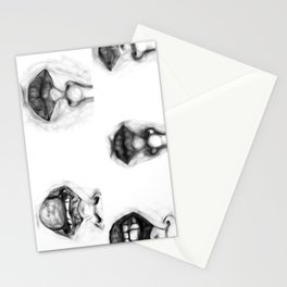 Mouth Studies Stationery Cards