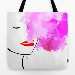 Cotton Candy Smoke Tote Bag