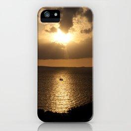 Majorca Sunset iPhone Case